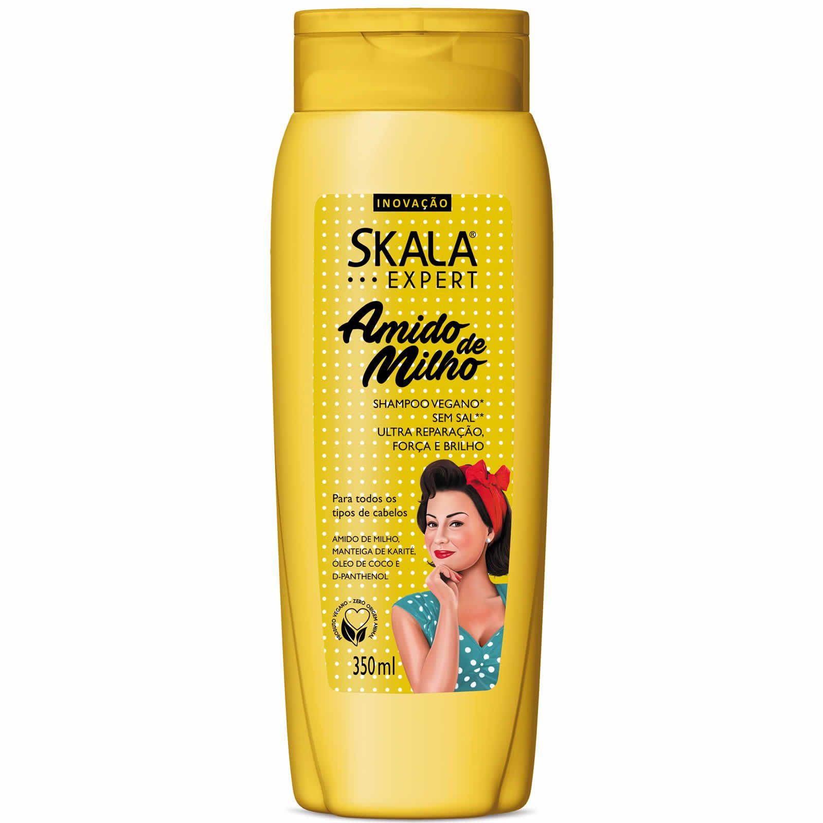 Shampoo Amido de Milho