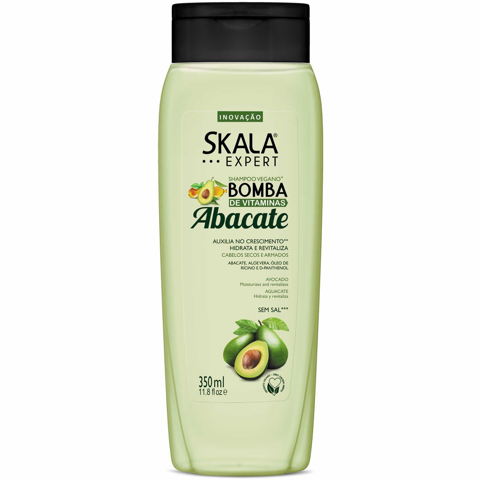 Shampoo Bomba de Vitaminas Abacate