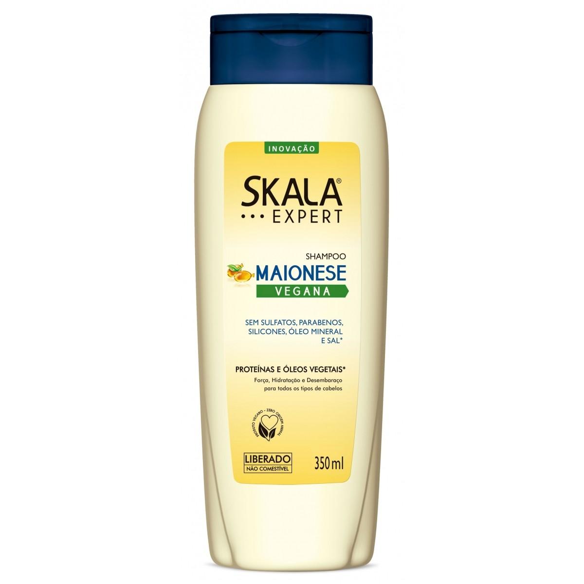 Shampoo Maionese Vegana