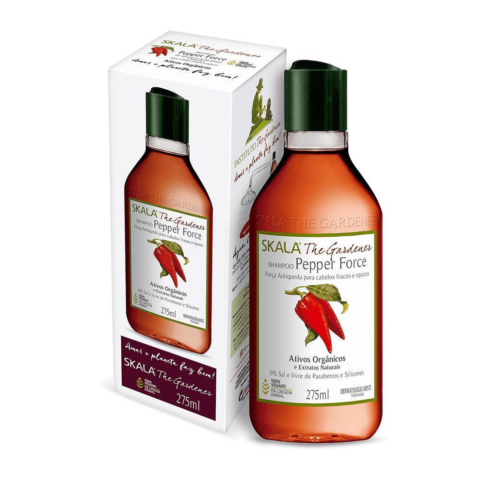Shampoo Pepper Force