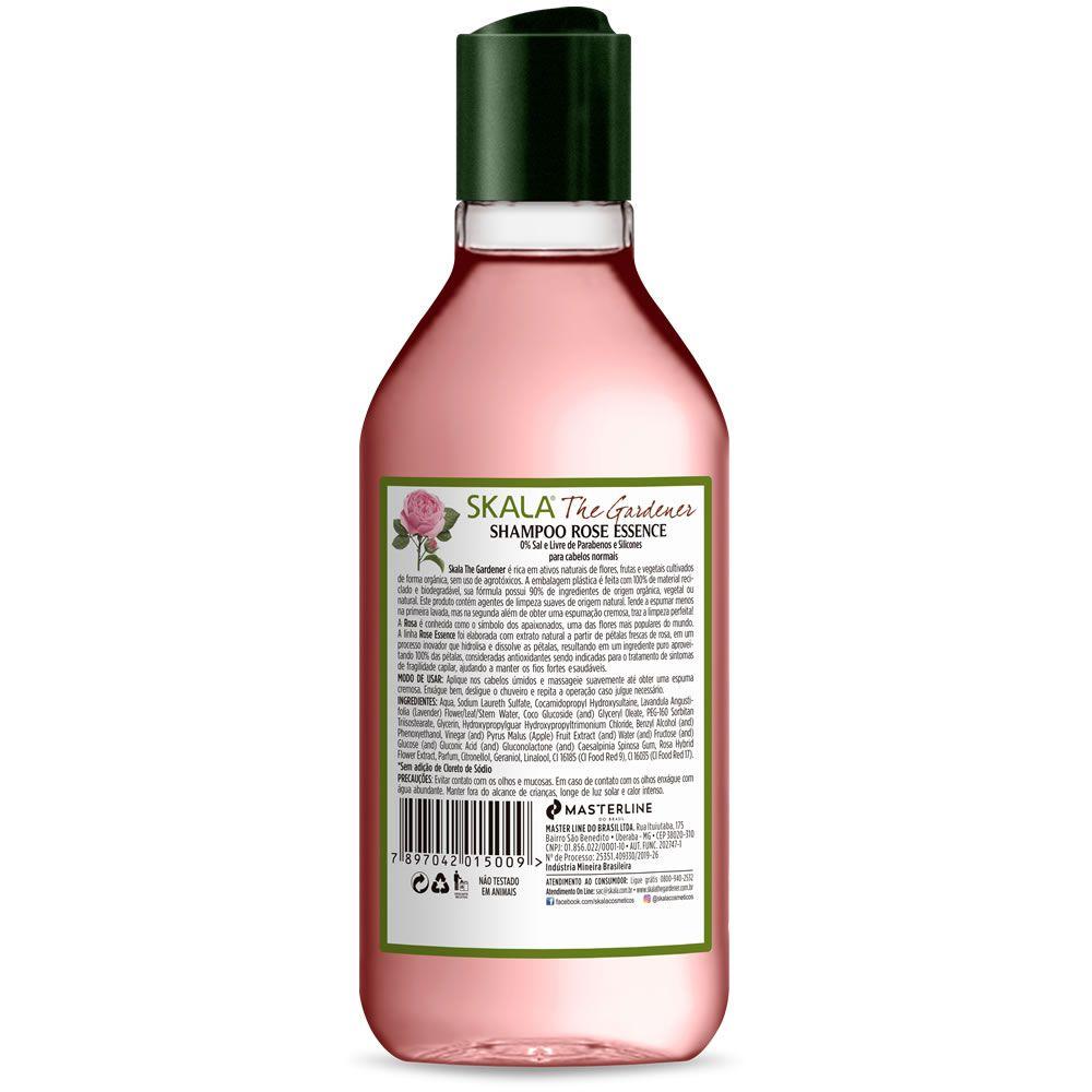 Shampoo Rose Essence