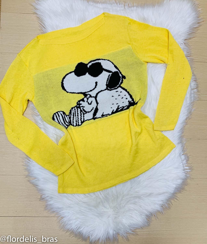 Blusa Feminina de Lã Snoop
