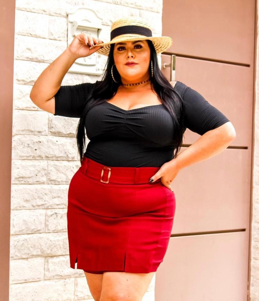 Body Plus Size Princesa Manga Curta