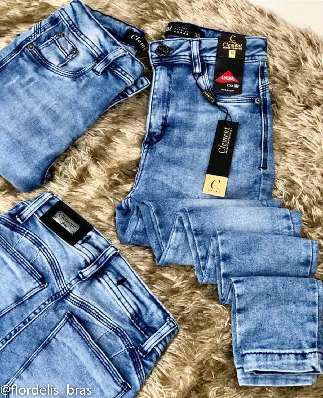 Calça Jeans Levanta Bumbum com Lycra