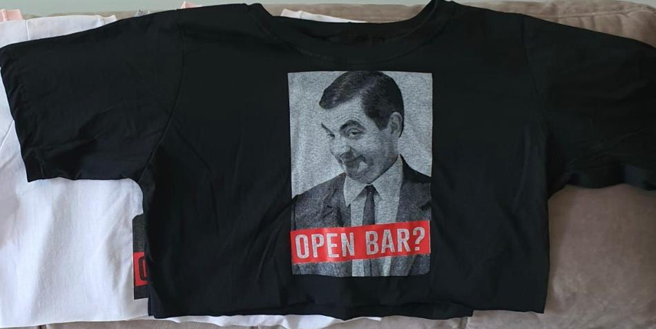 Cropped Open Bar