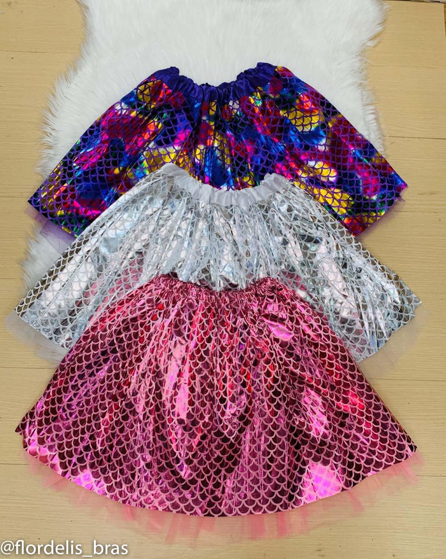 Saia tutu Metalizada para Brilhar no Carnaval