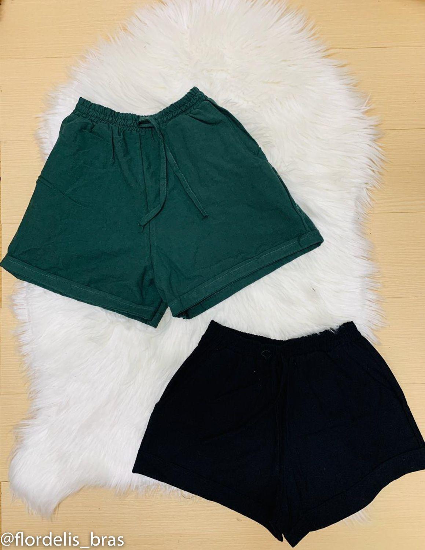 Shorts Linho com Bolso Lateral
