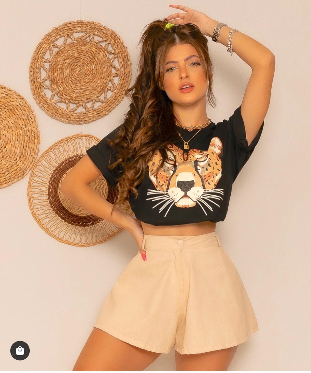 T-shirt Guepardo