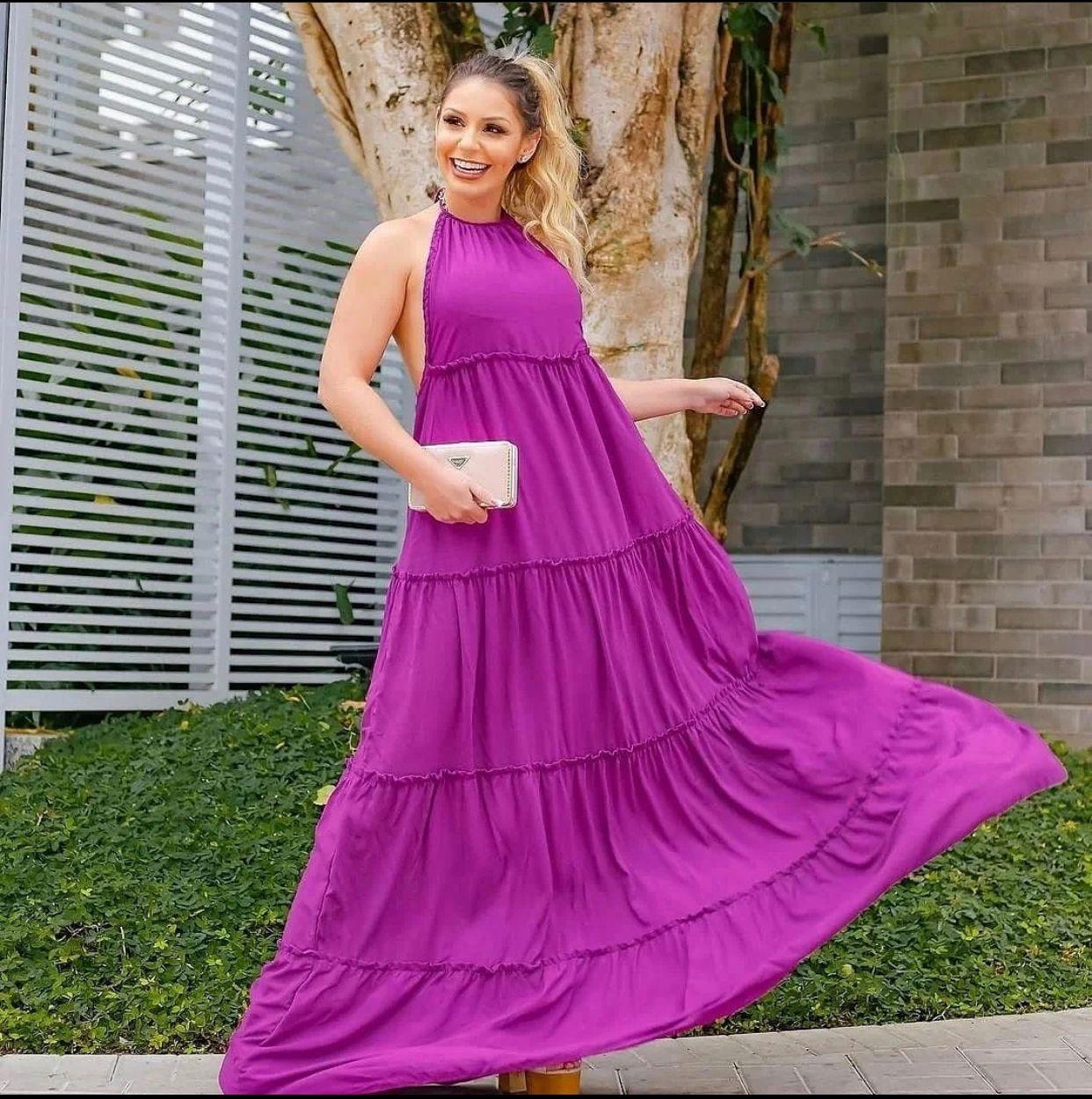 Vestido Longo Maria
