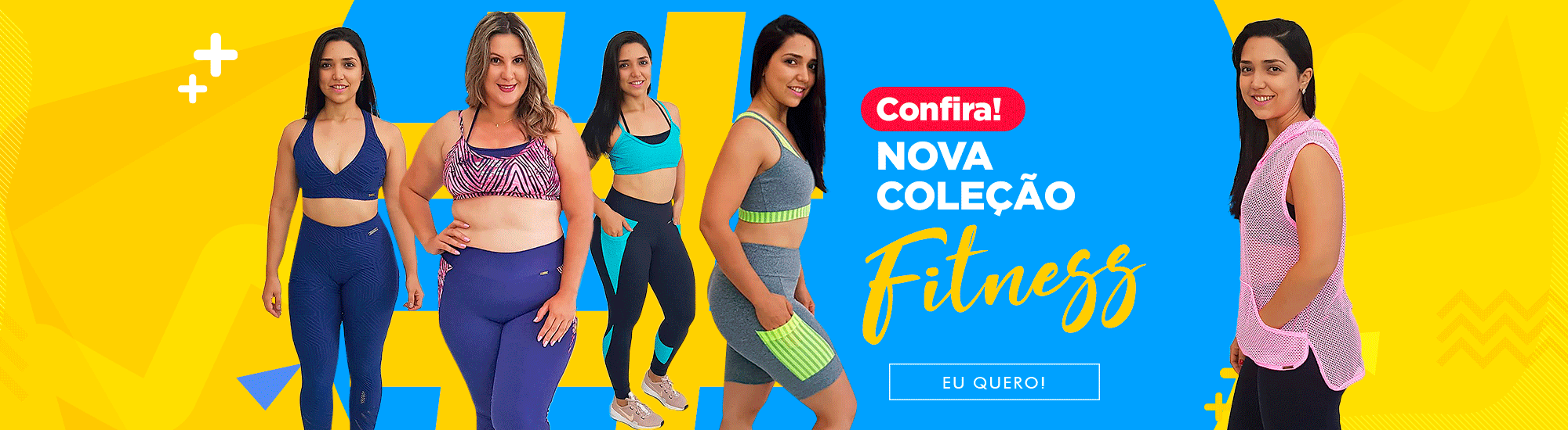Aqui tem moda fitness!!