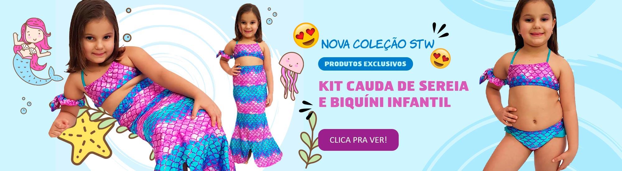 Nova Coleção STW Kids. Confira o melhor da moda praia para as crianças!