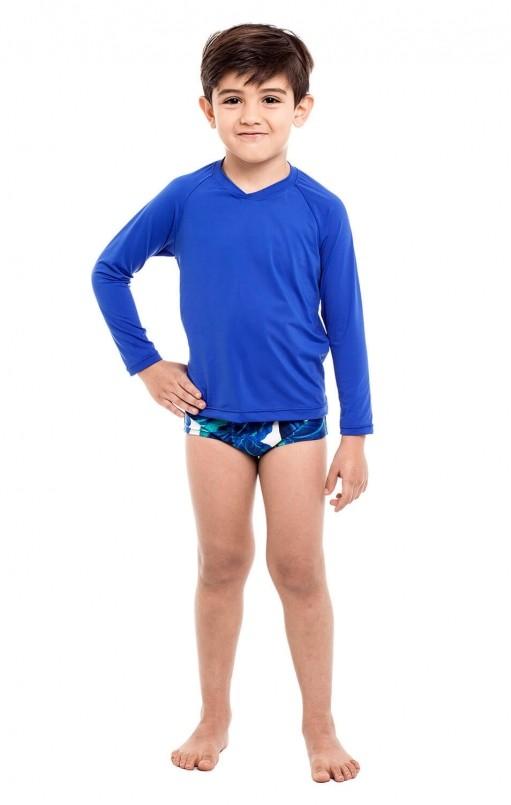 Camiseta Uv Praia Infantil Bic