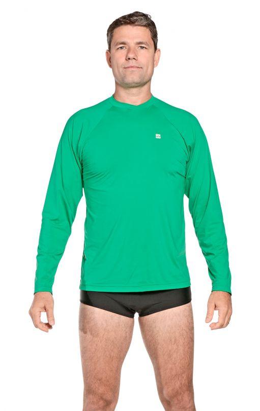 Camiseta Masculina Uv Praia Verde