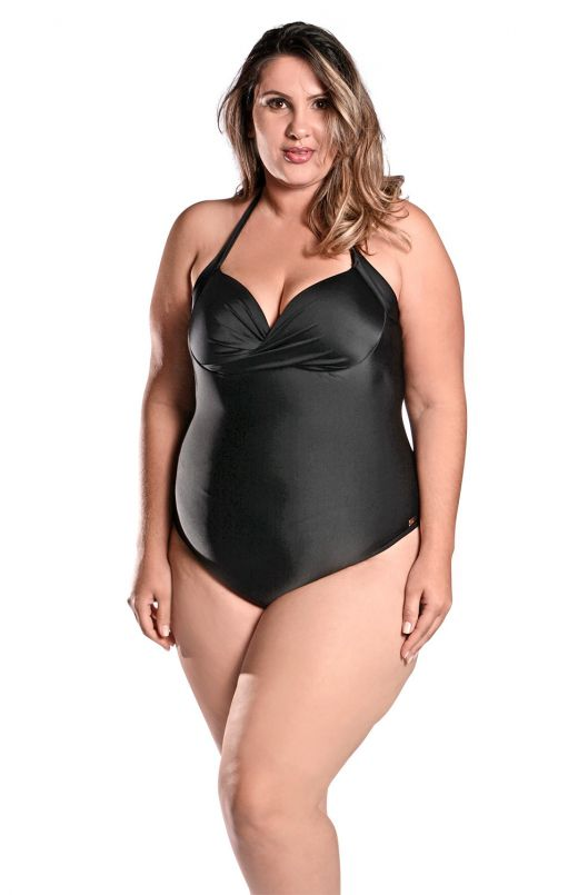 Maiô Plus Size Kelly Preto