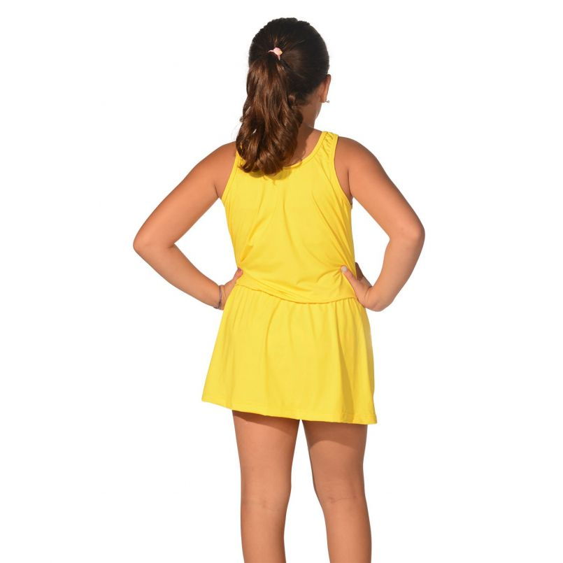 Saída Praia Infantil U.V 50+ Amarelo