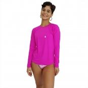 Foto 1 Camiseta Feminina Manga Longa UV 50+ Pink