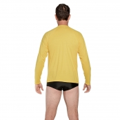 Foto 2 Camiseta Masculina Manga Longa UV 50+ Amarelo