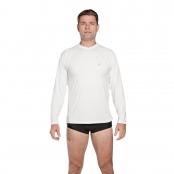 Foto 1 Camiseta Masculina Manga Longa UV 50+ Branco
