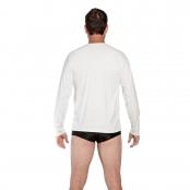 Foto 2 Camiseta Masculina Manga Longa UV 50+ Branco