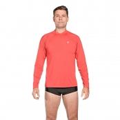 Foto 1 Camiseta Masculina Manga Longa UV 50+ Vermelho