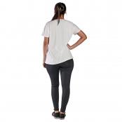 Foto 2 Camiseta Feminina Manga Curta UV 50+ New Trip Branco