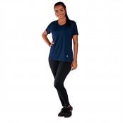 Foto 1 Camiseta Feminina Manga Curta UV 50+ New Trip Azul Marinho