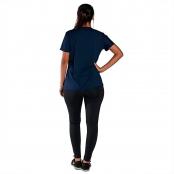Foto 2 Camiseta Feminina Manga Curta UV 50+ New Trip Azul Marinho
