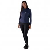 Foto 1 Camiseta Feminina Manga Longa UV 50+ Azul Marinho