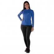 Foto 1 Camiseta Feminina Manga Longa UV 50+ Azul Bic