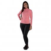 Foto 1 Camiseta Feminina Manga Longa UV 50+ Rosa Claro