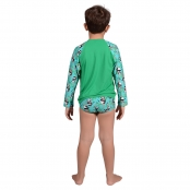 Foto 2 Camiseta Infantil Manga Longa UV 50+ Panda