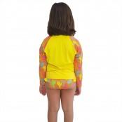 Foto 2 Conjunto Proteção Solar Infantil Praia UV50+ Caquitos