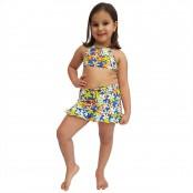 Foto 1 Saia Feminina Infantil Jeans