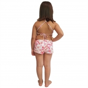 Foto 2 Short Feminino Infantil com Cós Largo Borboleta
