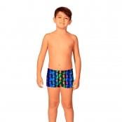 Foto 1 Sunga Infantil Boxer Abacaxi