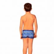 Foto 2 Sunga Infantil Boxer Geométrico