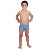 Foto 1 Sunga Infantil Boxer Sorvete Azul