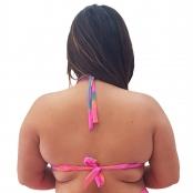 Foto 2 Top de Praia Plus Size Meia Taça Tie Dye