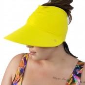Foto 1 Viseira Turbante com Proteção UV 50+ Amarelo