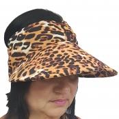 Foto 1 Viseira Turbante com Proteção UV 50+ Onça