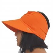 Foto 2 Viseira Turbante com Proteção UV 50+ Laranja