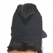 Foto 3 Viseira Turbante com Proteção UV 50+ Preta