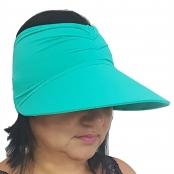 Foto 1 Viseira Turbante com Proteção UV 50+ Verde Nanai