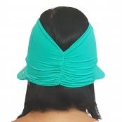 Foto 3 Viseira Turbante com Proteção UV 50+ Verde Nanai