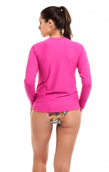 Blusa Uv Adulto Pink
