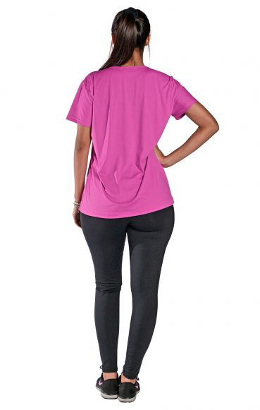 Camiseta New trip Fucsia