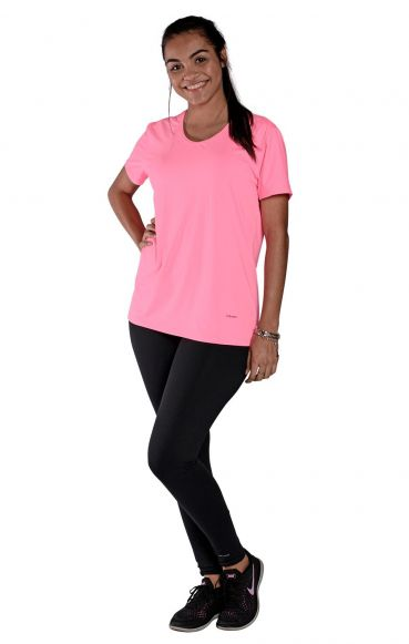 Camiseta New Trip Rosa Florescente