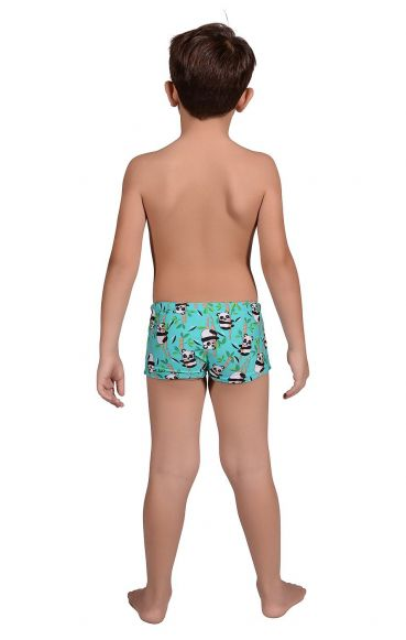 Kit Infantil Camiseta Uv + Sunga Boxer