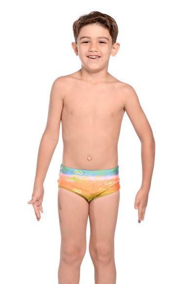 Sunga Infantil Arco Iris