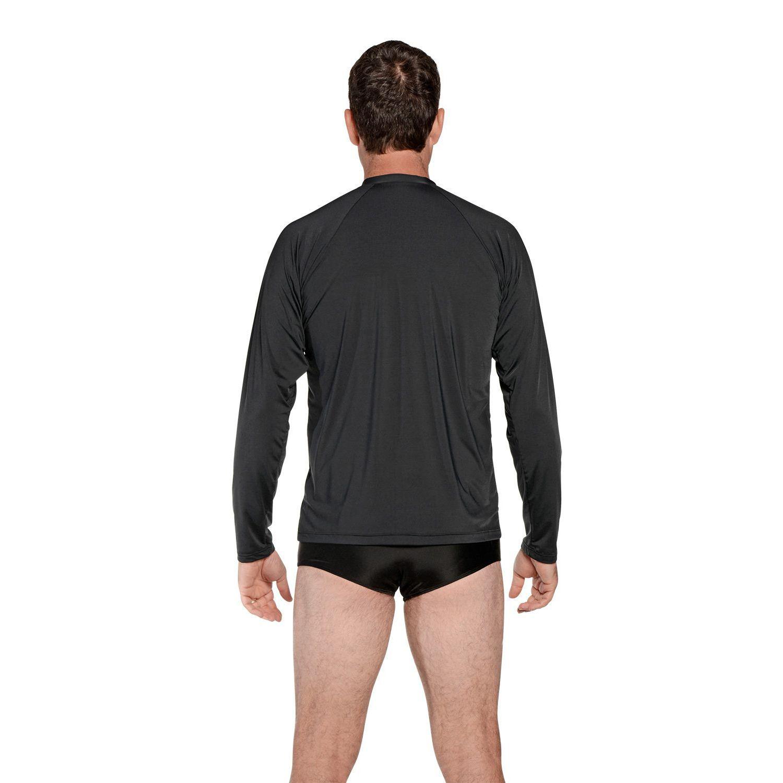 Camiseta Masculina Manga Longa UV 50+ Preto